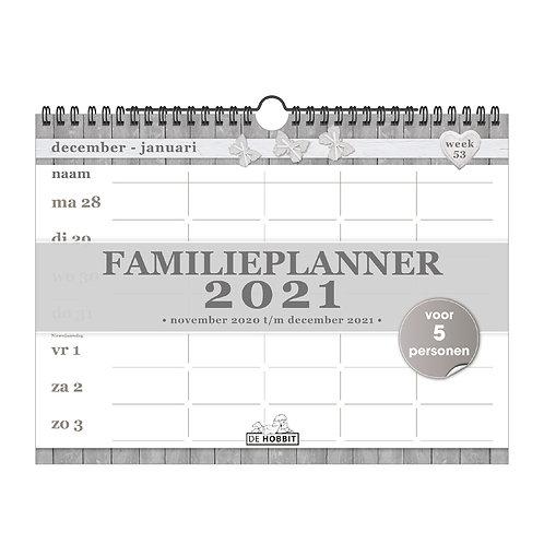 Familieplanner Spiraal D2 2021