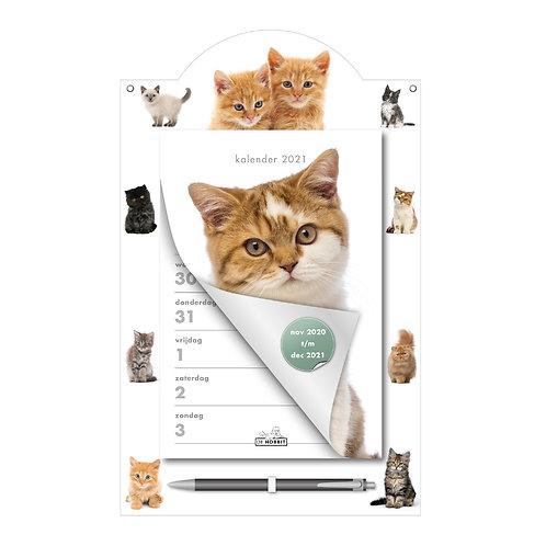 Weekscheurkalender Katten 2021