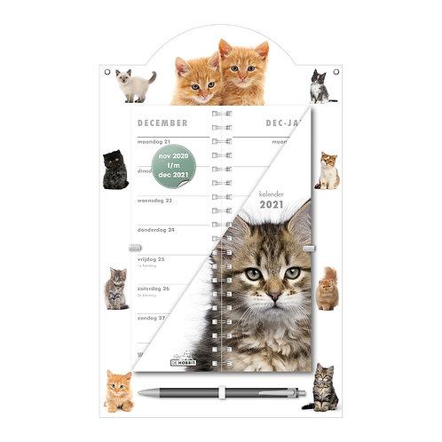 Omslagkalender Luxe Katten 2021
