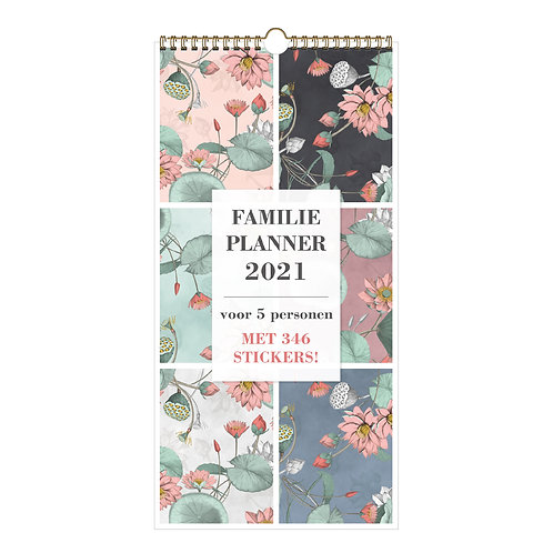 Familieplanner A3 Smal D2 2021