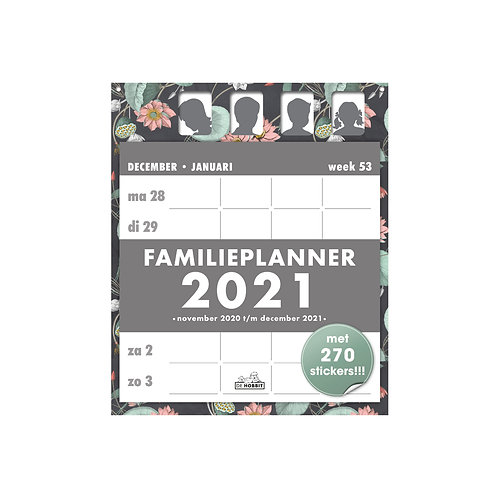 Familieplanner Scheur D2 2021