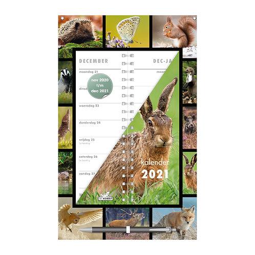 Omslagkalender Natuur 2021