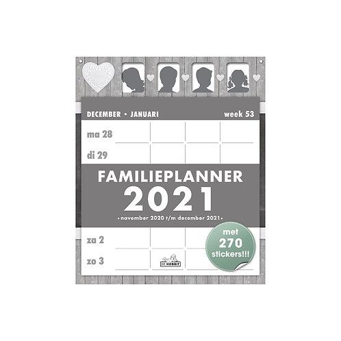 Familieplanner Scheur D1 2021