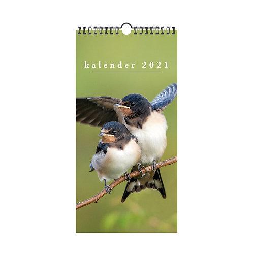 Minikalender Vogels 2021