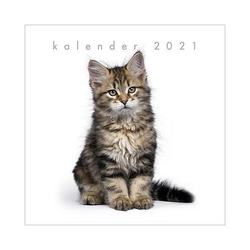 Jaarkalender Katten 2021