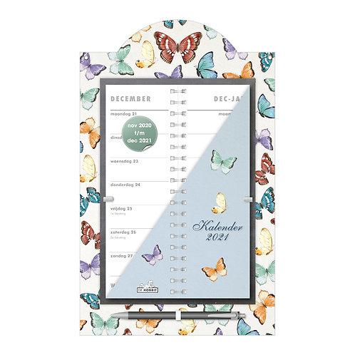 Omslagkalender Luxe Vlinders 2021