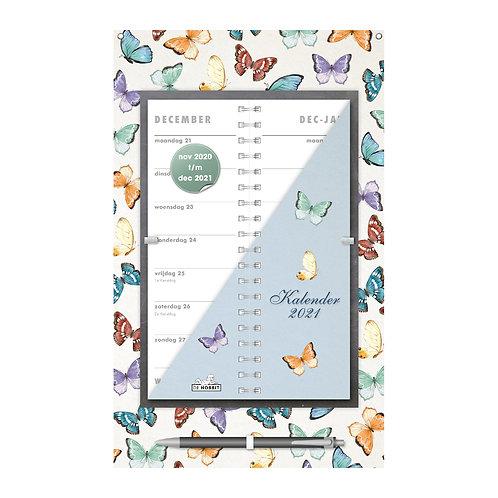 Omslagkalender Vlinders 2021