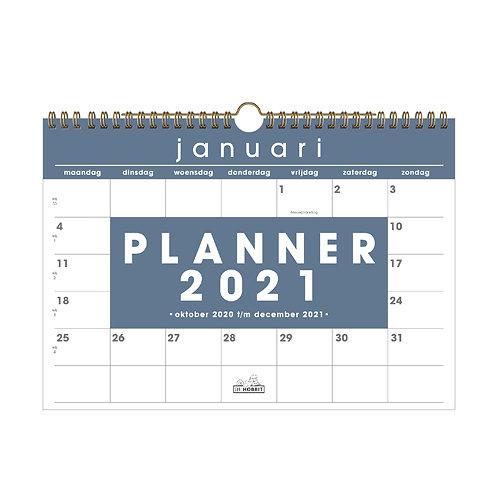 Maandplanner Basic D2 2021