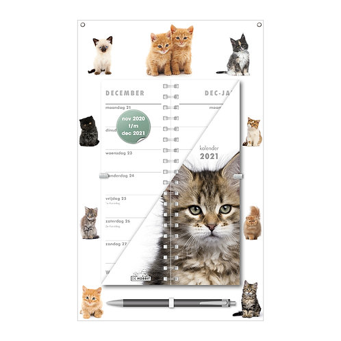 Omslagkalender Katten 2021