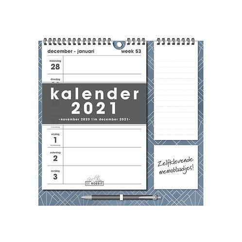 Weekkalender Memo Rechts D1 2021