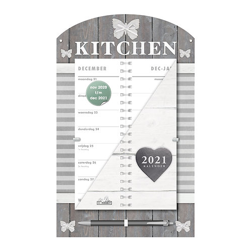 Omslagkalender Luxe Kitchen 2021