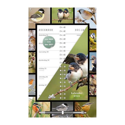 Omslagkalender Vogels 2021