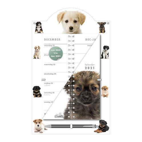 Omslagkalender Luxe Honden 2021