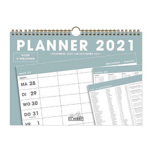 Familieplanner Spiraal D5 2021
