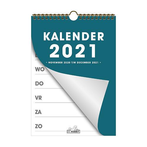 Spiraalkalender A4 D2 2021