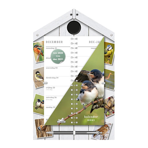 Omslagkalender Luxe Vogels 2021