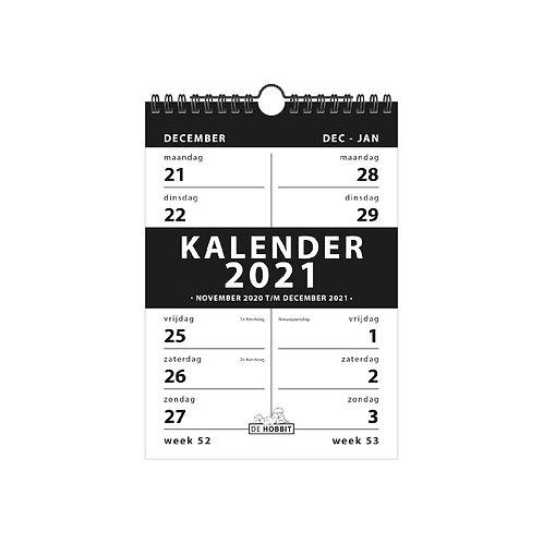Spiraalkalender 2-weeks D4 2021
