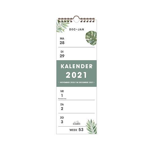 Weekkalender Smal D2 2021