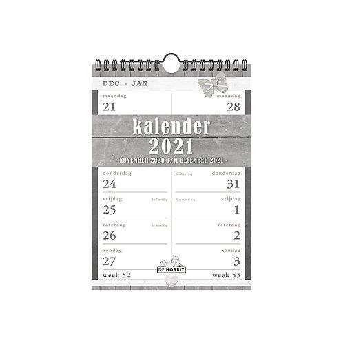 Spiraalkalender 2-weeks D3 2021