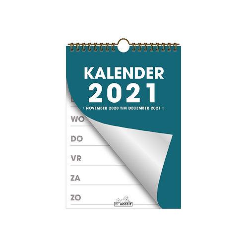 Spiraalkalender A5 D2 2021