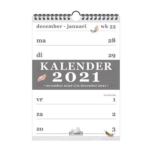 Spiraalkalender A4 D4 2021