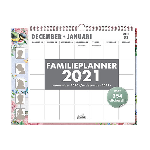 Familieplanner Omslag D3 2021