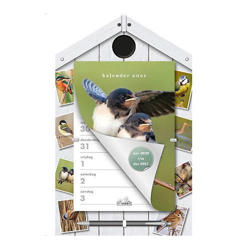 Weekscheurkalender Vogels 2021