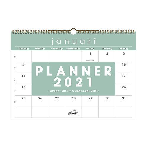 Maandplanner Basic D4 2021
