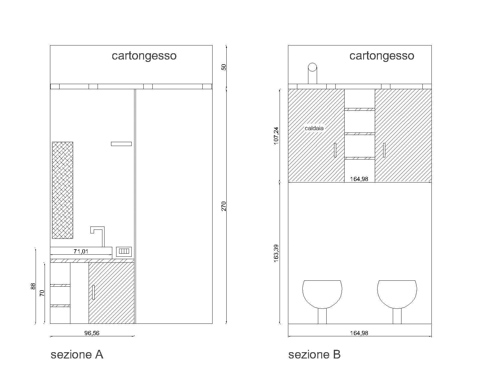residenza lemnine cucina e bagno