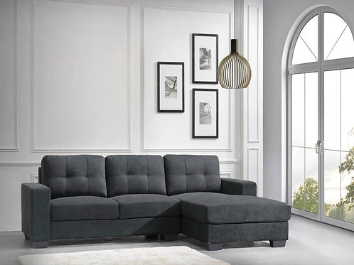 Modern Gray Sectional
