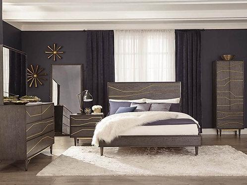 Tarah Queen Bedroom Set Graphite