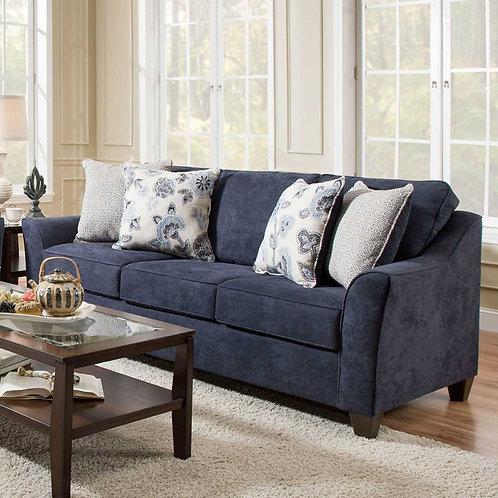 Lane furniture sofa navy blue