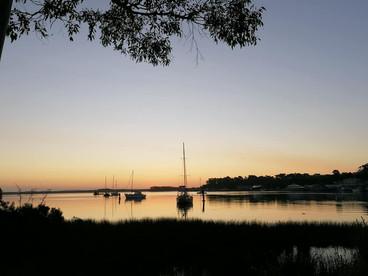 Sunset in Strahan