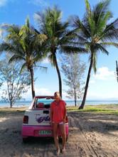 Tropical Topless Car