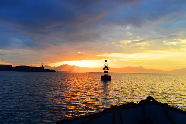Sunrise in Alcudia