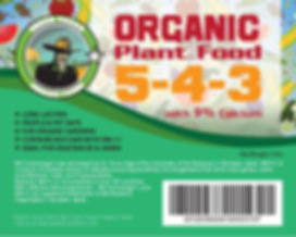 Organic Plant Food Vegetables
