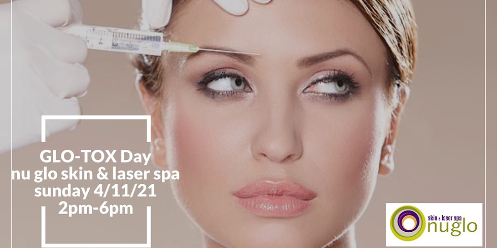 GLO-TOX DAY at nu glo!