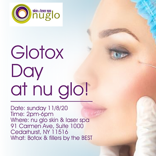 Glotox Day at nu glo!