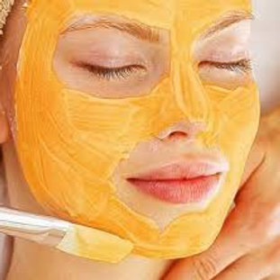 Pumpkin/Glycolic Brightening Peel WITH a collagen mask w/massage