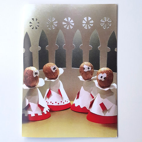 Walnut Choir - Veg Series Card