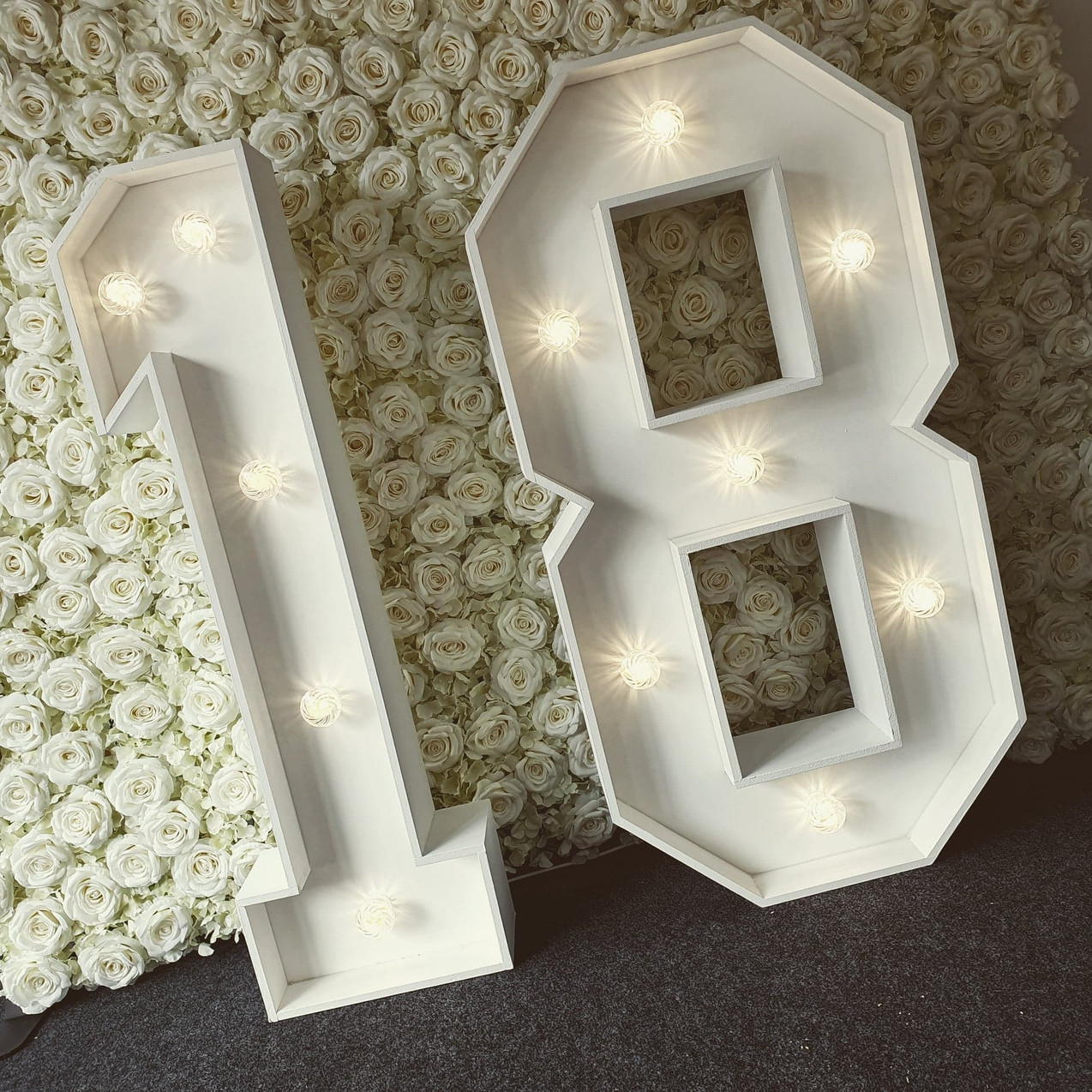 18 LED Numbers