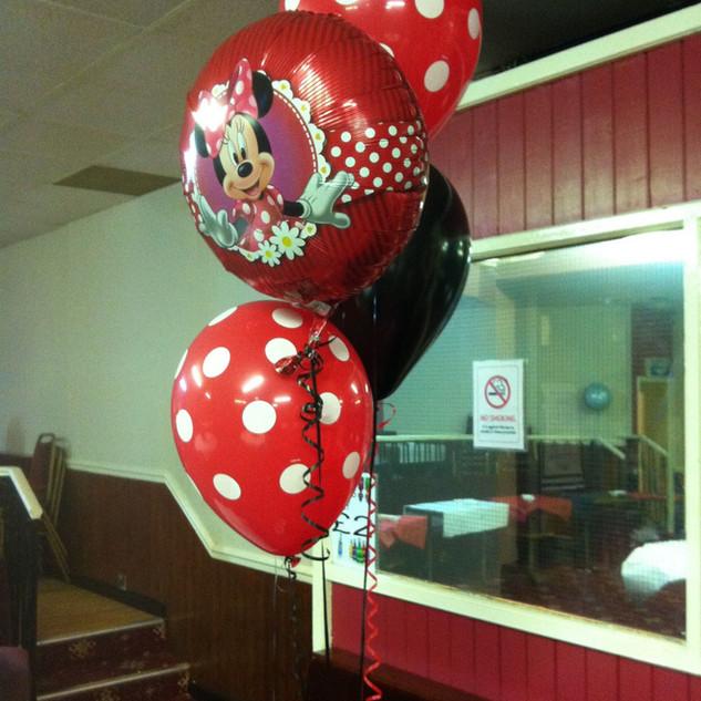 Minnie Balloon Clusters