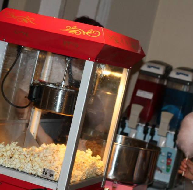 Popcorn, Slush & Candy Floss