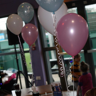 Christening Balloon Clusters