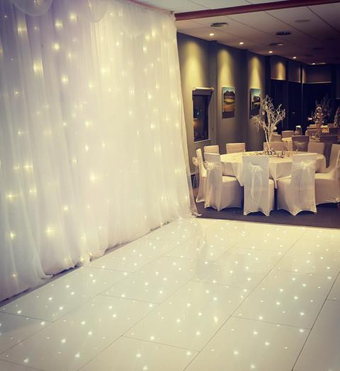 Starlit twinkle backdrop