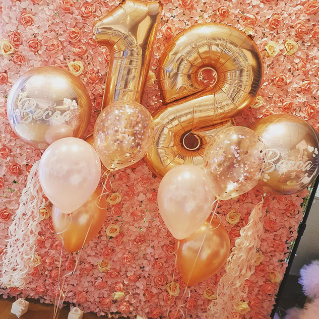 House Party Balloon Package