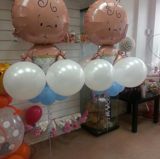 Floating Baby Balloons