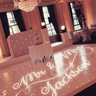 GOBO Projector and LED Dance Floor