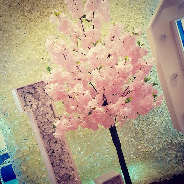 Blossom Tree Centerpieces