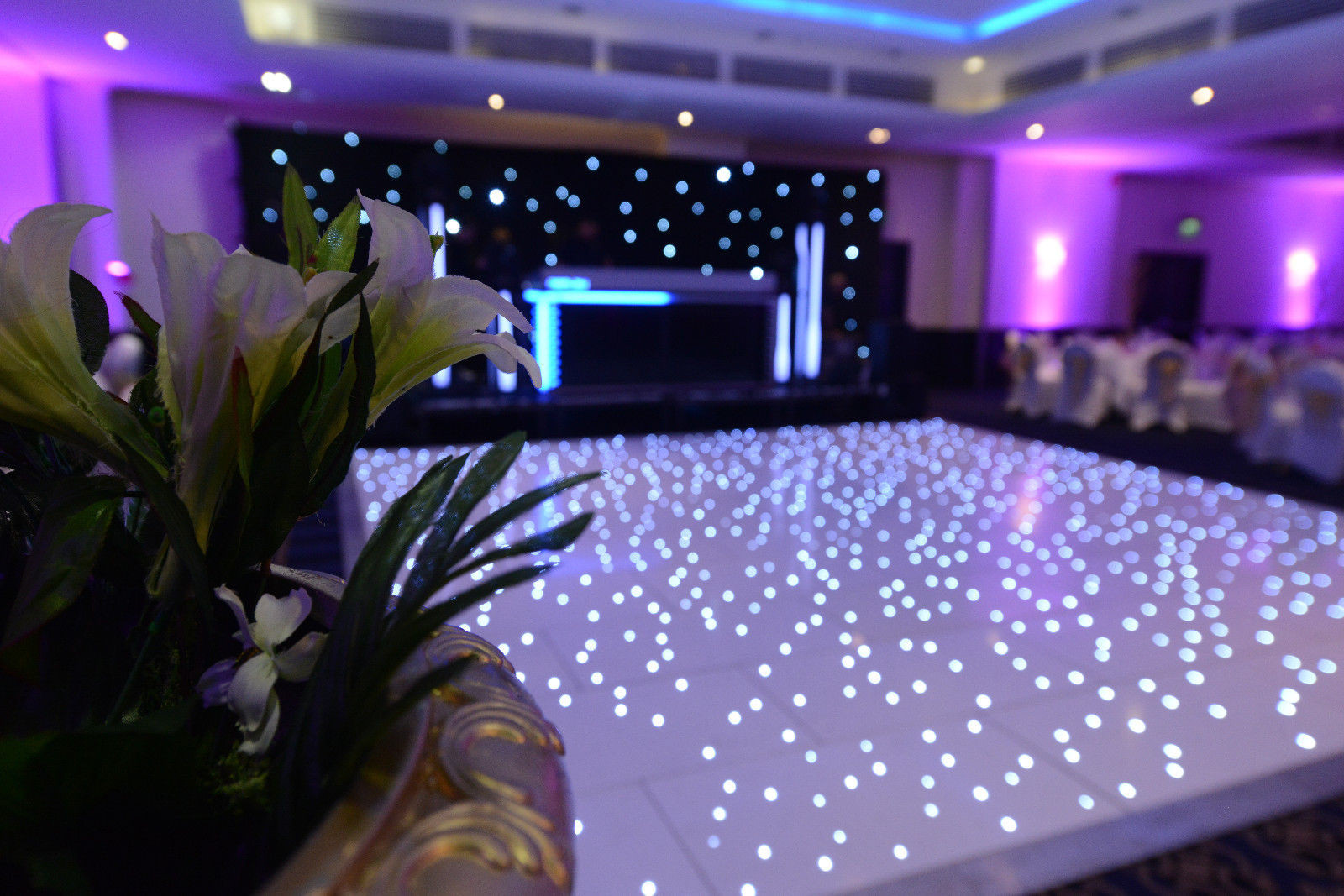 Starlit Twinkle LED Dance Floor